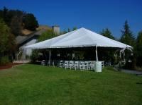 40x40 Tent White Wedding Chairsvendors Celebrations Party
