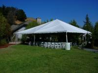 40x40 Tent White Wedding Chairsvendors Celebrations Party ...