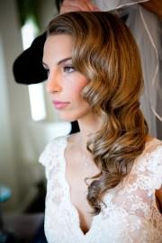 hair bride opted loose