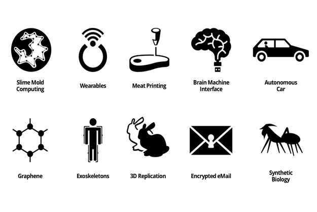 Simple Icons Help Visualize The Trends Of The Near Future