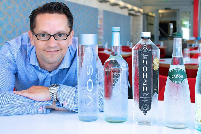 First Ever Water Tasting With Restaurant Water Sommelier
