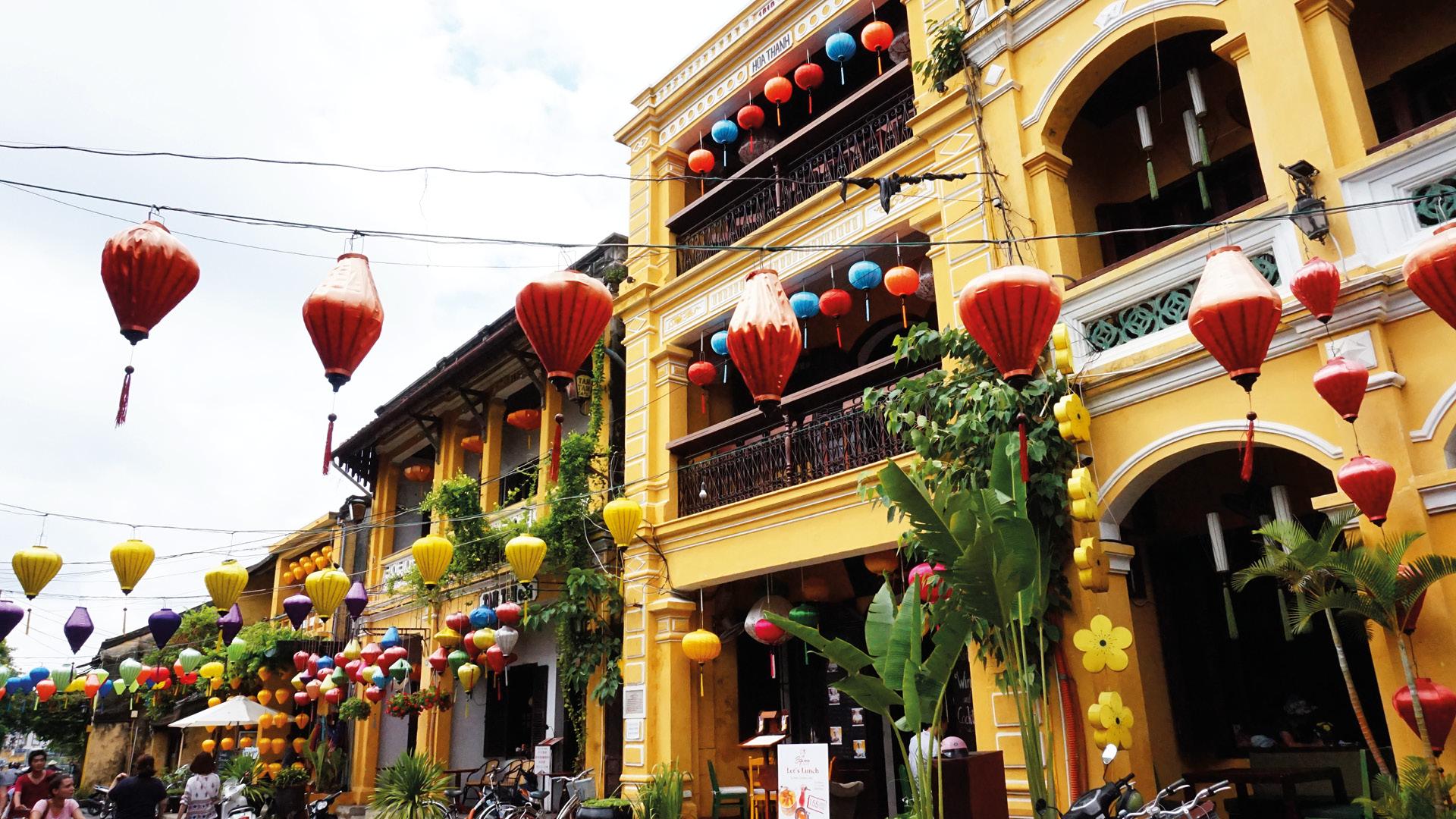 HOI AN het mooiste plaatsje van Vietnam REiSREPORT