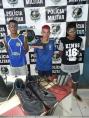 Trio é preso após furtar roupas, perfumes e tênis em residência de Porto Velho