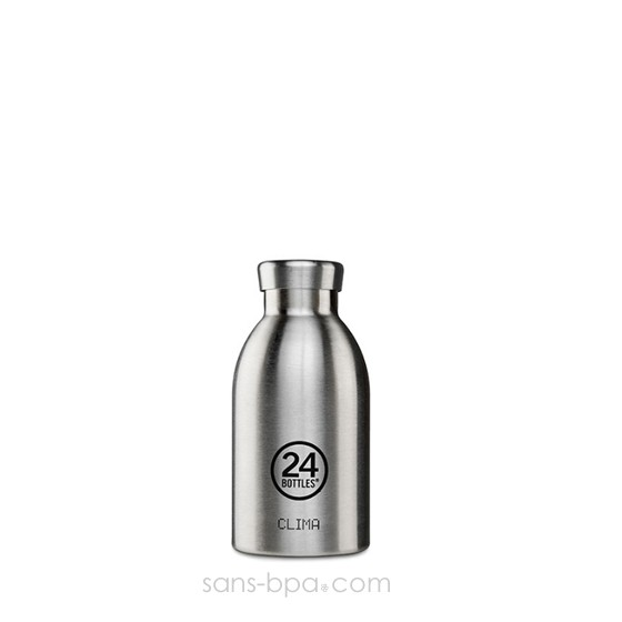 bouteille inox isotherme 330ml clima inox