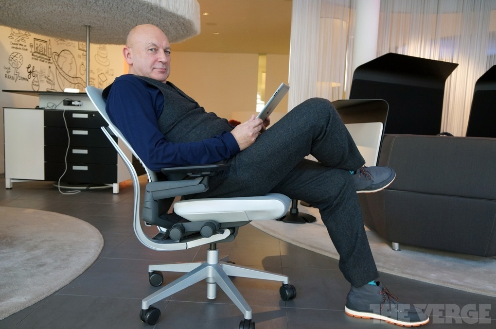 How do you design a chair for the iPad age  The Verge