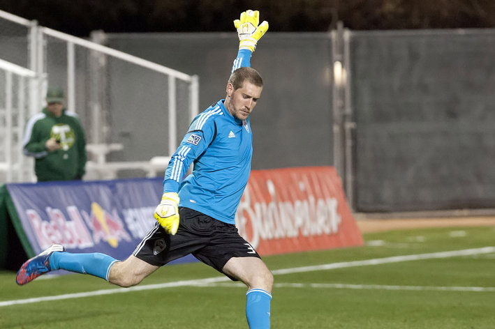 Colorado Rapids goalkeeper Clint Irwin