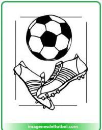 Dibujo De Una Pelota De Ftbol Para Colorear