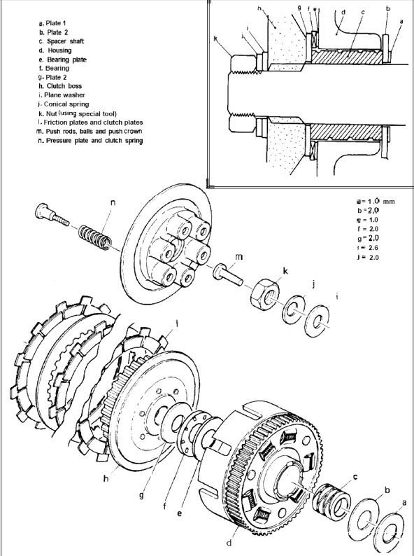 Adjustment: Xs650 Clutch Adjustment