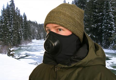 kitchen ventilator where to buy cheap cabinets cold weather face mask @ sharper image