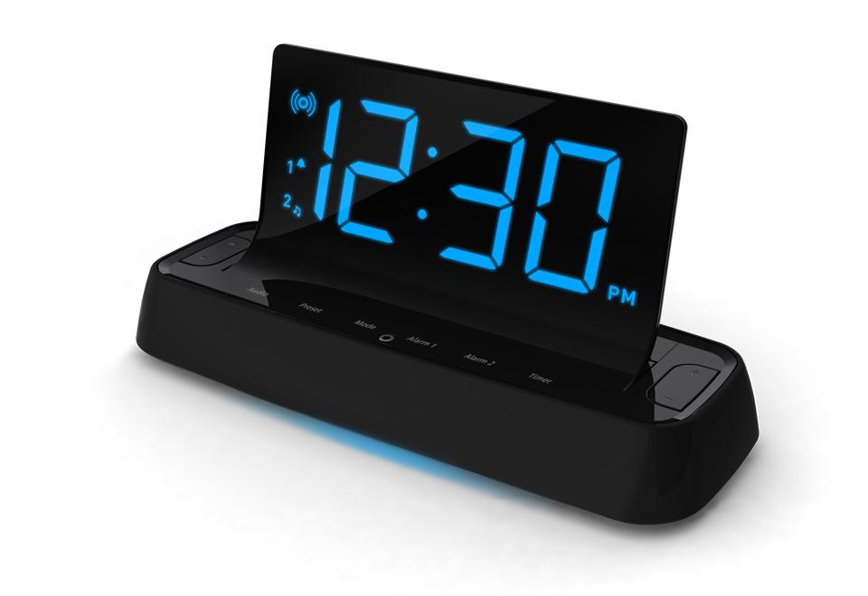 Voice Command Alarm Clock  Sharper Image