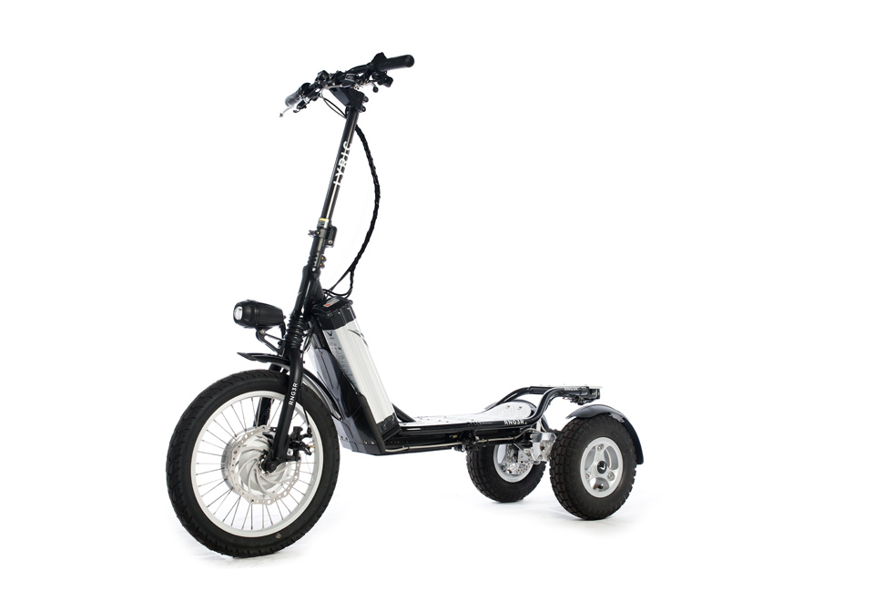 Electric Powered Scooter @ Sharper Image
