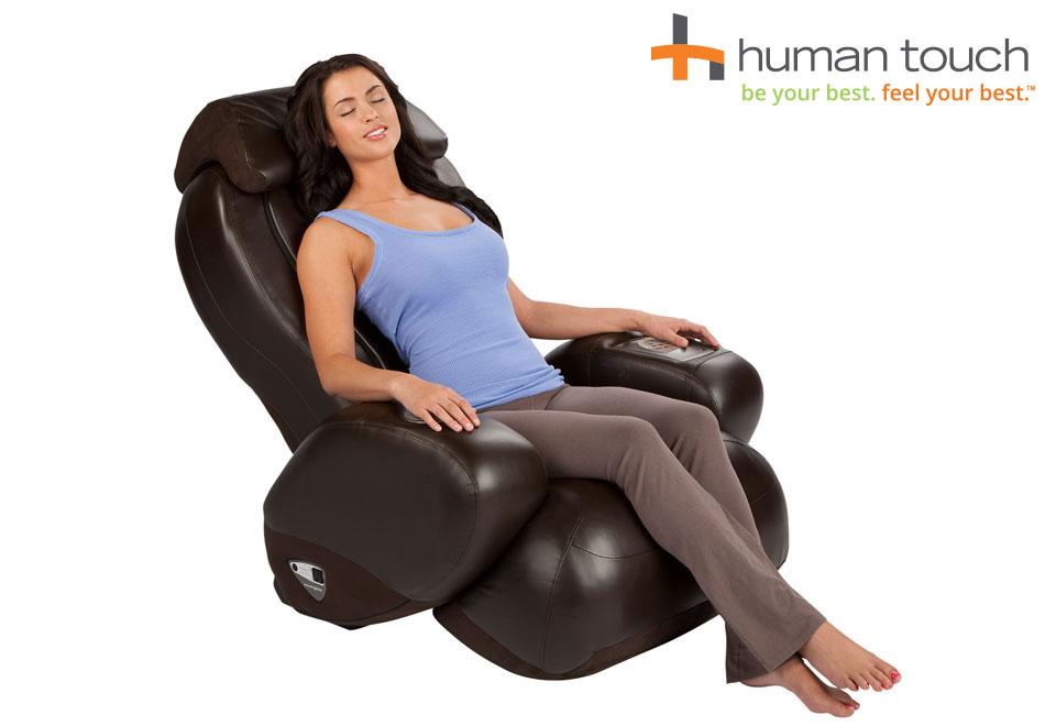 Human Touch Compact Massage Chair Recliner  Sharper Image