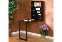 Wall-Mounted Fold-Down Desk @ Sharper Image
