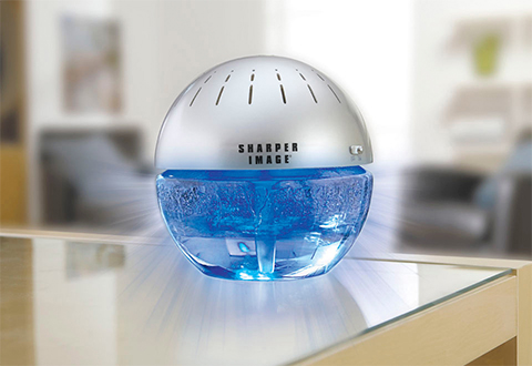 Lighted Water Air Purifier and Freshener  Sharper Image