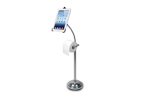iPad Bathroom Pedestal Stand @ Sharper Image