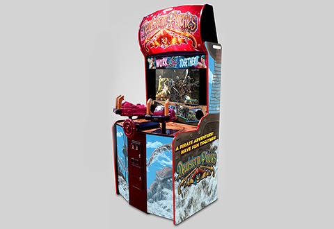 Deadstorm Pirates Arcade Game  Sharper Image