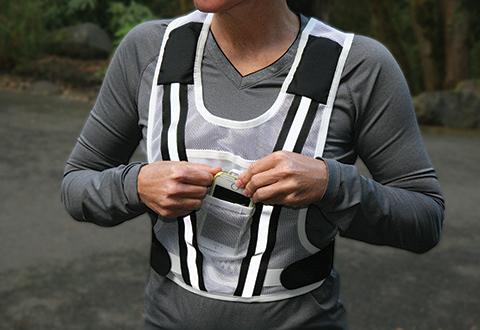 Running Vest with Speakers  Sharper Image