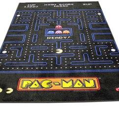 Kitchen Area Rug Tile Decals Pac-man @ Sharper Image