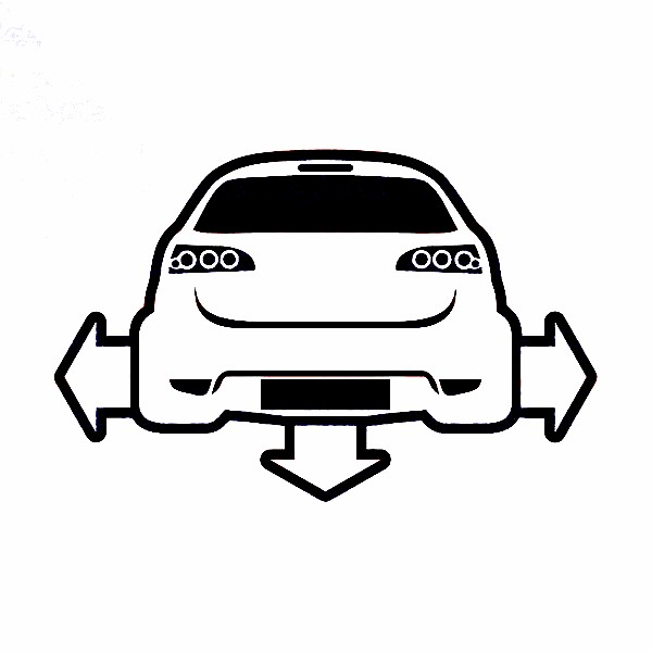 Autocolante para Seat Ibiza 6L