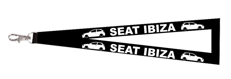Fita Porta Chaves para Seat Ibiza 6L