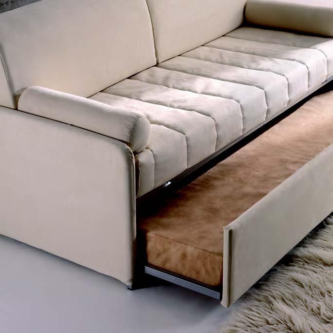 divano letto con letto estraibile Clochard di Hoppl