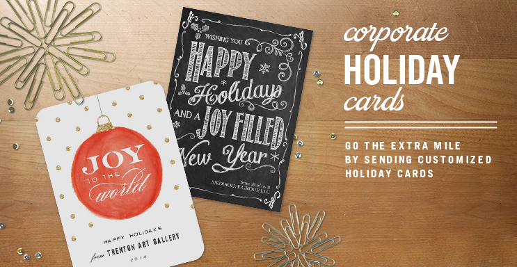 Business Christmas Cards Simply To Impress