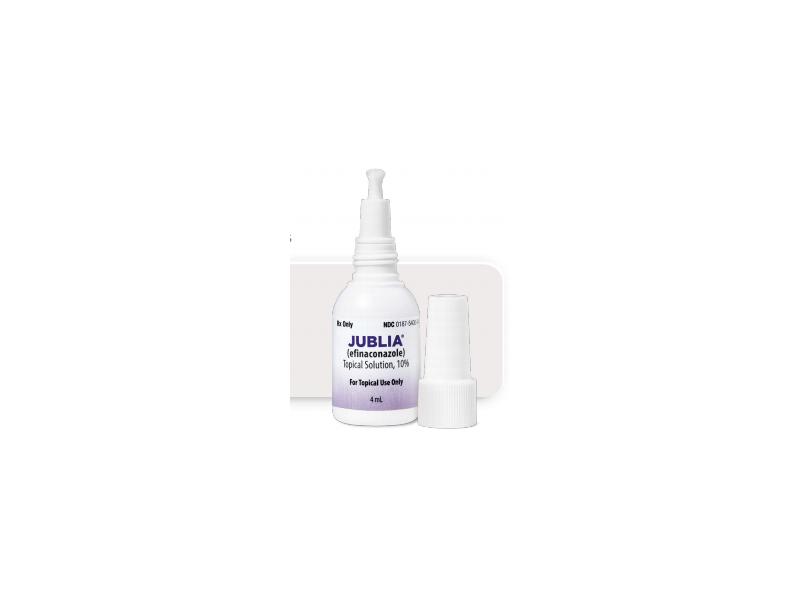 JUBLIA (efinaconazole topical solution 10%) 4 mL ...