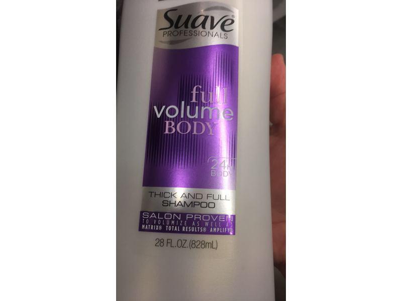 Suave Full Volume Body Thick Amp Full Shampoo 28 Fl Oz