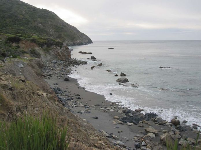 Starlight Beach - the western terminus of the Trans-Catalina Trail