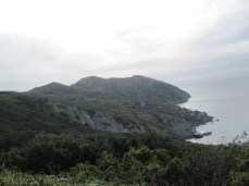 The western end of Catalina Island