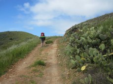 A big elevation gain over the hill to Parson's Landing