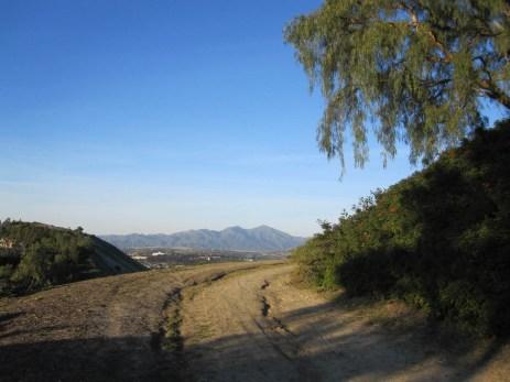 Santiago Peak in the distance
