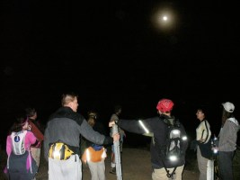 Renegade hikers under the full moon - Photo credit: Lily Nguyen