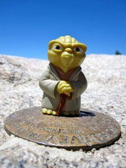 """Yoda says """"Climb San Jacinto, you should."""""""