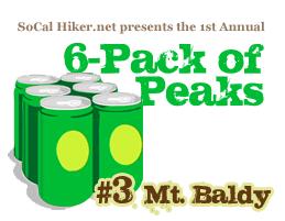 6-Pack of Peaks #3 Mt. Baldy