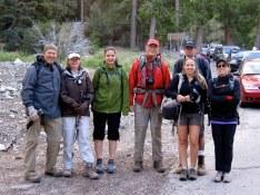 Friends from Hiking OC Meetup