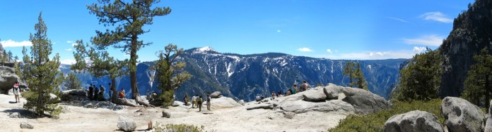 Above Upper Yosemite Falls