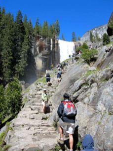 Approaching Vernal Falls
