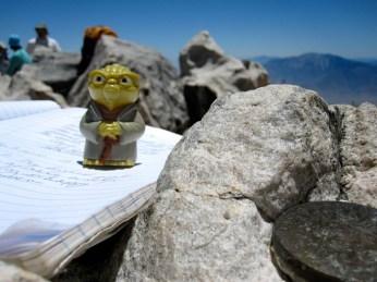 Yoda at the San Gorgonio summit