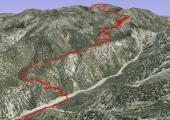 Vivian Creek trail to San Gorgonio