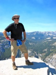 Jeff on top of Half Dome