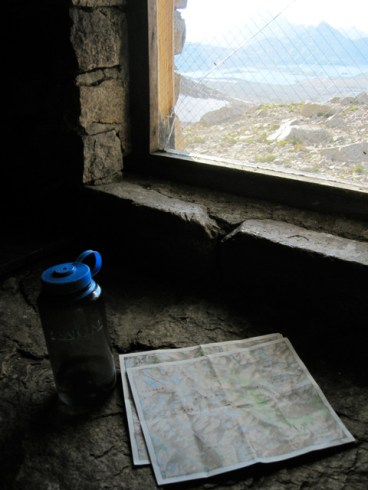 Inside Muir Hut