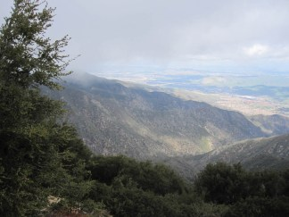 Looking east toward the Inland Empire