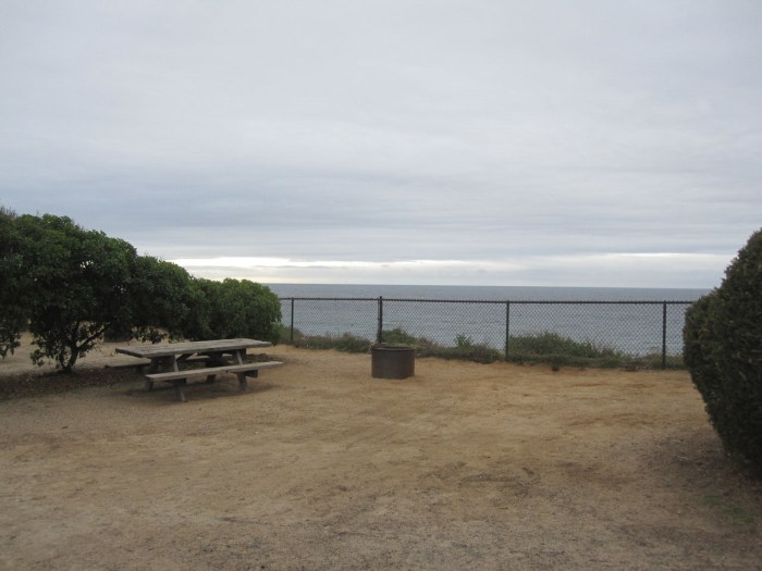 Campground on the bluff
