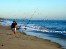 Fishing at Doheny