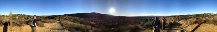 Peters Canyon Panorama