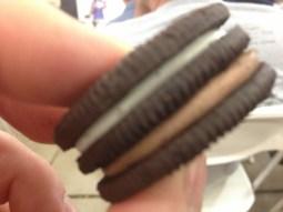 The Oreo Triple-Double. 100 calories per cookie.