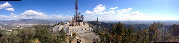 Radio Towers on Mt Lee