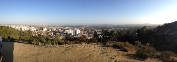 LA panorama from the Star Trail