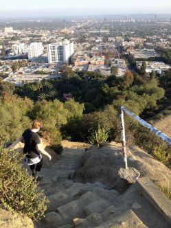 The Star Trail in Runyon Canyon